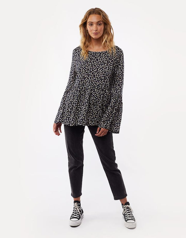 Autumn Ditsy L/S Top
