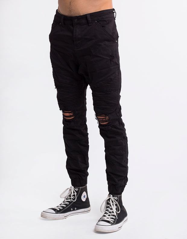 Outlaw Wreck Blk Pant (r)