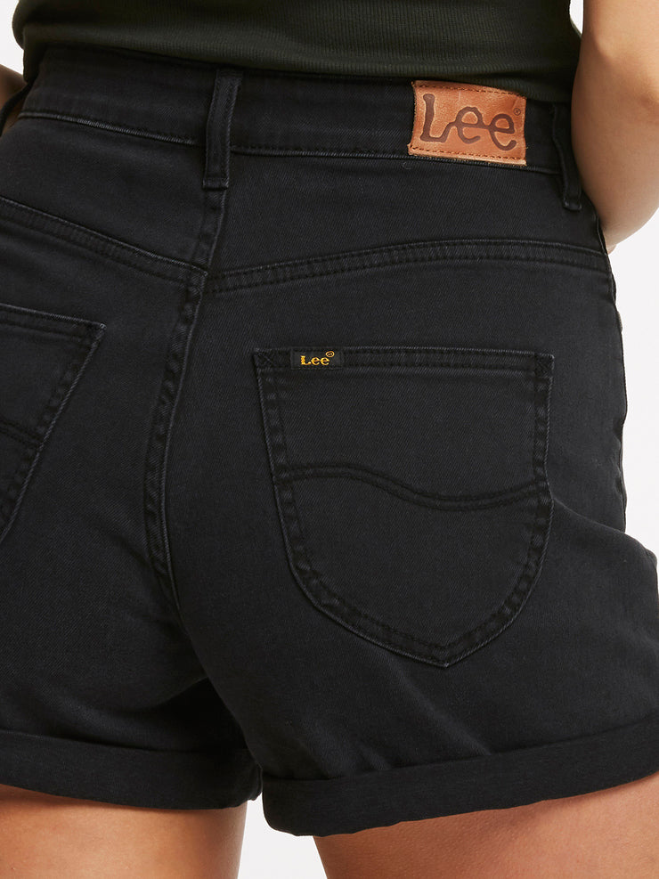 Stevie Short Lunar Black