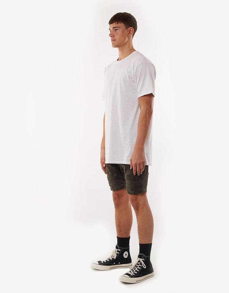 Outlaw Short - Trashed  Khaki