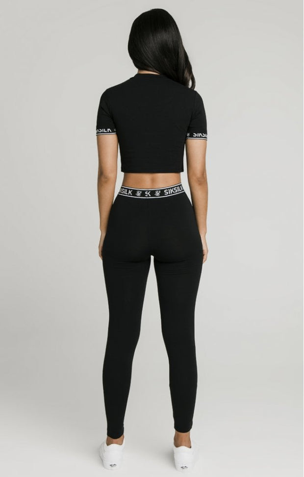 Crop Tech Tee - Black