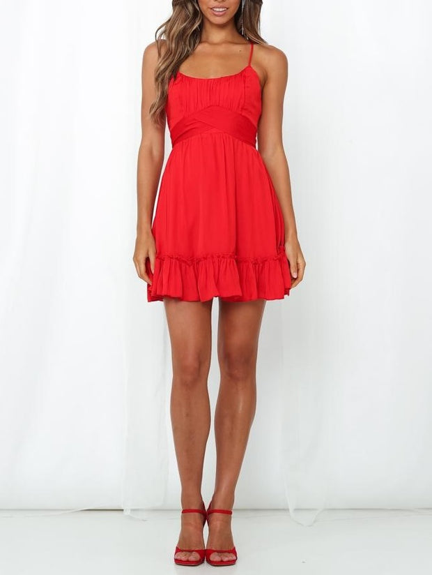 Lover Dress - Red