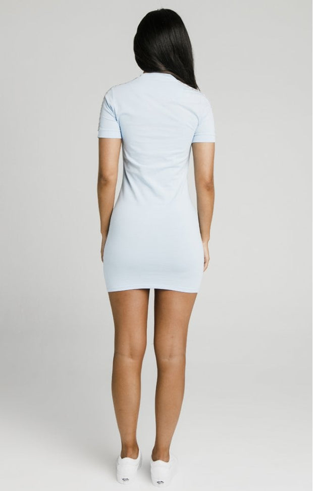 Sky Tape Bodycon Dress