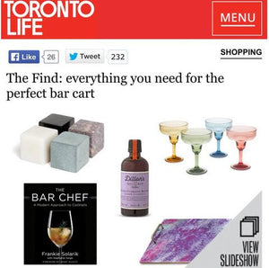 Toronto Life: Everything You Need For The Perfect Bar Cart