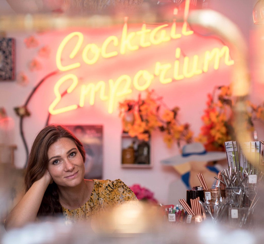 She Does The City: Her Career - Kristen Voisey, founder of BYOB Cocktail Emporium & 1/2 oz. Cocktail Emporium