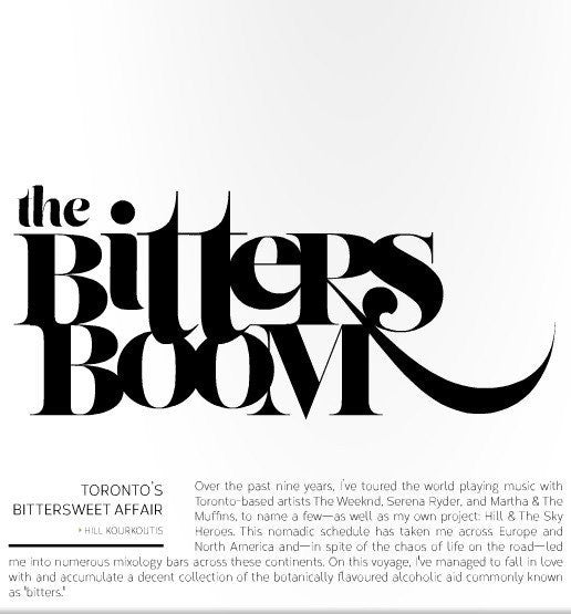 YYZ Living Magazine: The Bitters Boom
