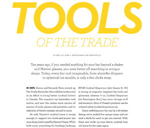 Food & Drink: Tools of the Trade