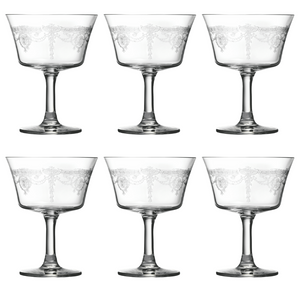 1890 Retro Fizz Glass