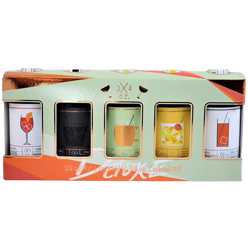 3/4 oz. Deluxe Cocktail Kit