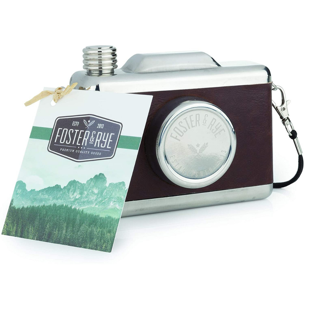 Stainless Steel Snapshot Flask
