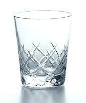 Japanese Yarai Double Old Fashioned Glass
