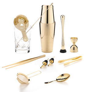 The Cocktail Aficionado Set (Gold)