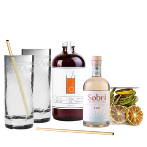Deluxe Sobrii Gin + Tonic Gift Set
