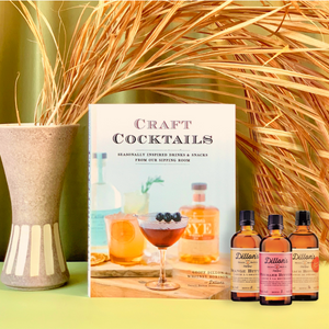 Dillon's Craft Cocktails Book + Bitters Set