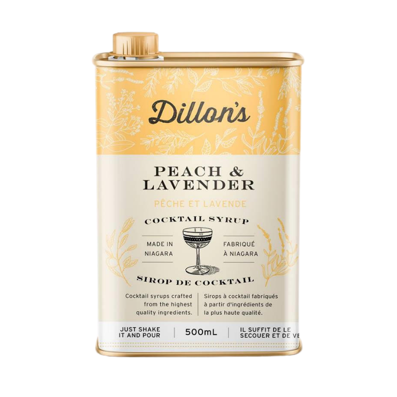 Dillon's Peach and Lavender Syrup