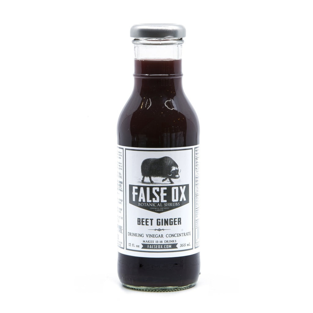 False Ox Beet & Ginger Shrub