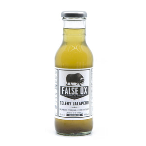 False Ox Celery Jalapeno Shrub