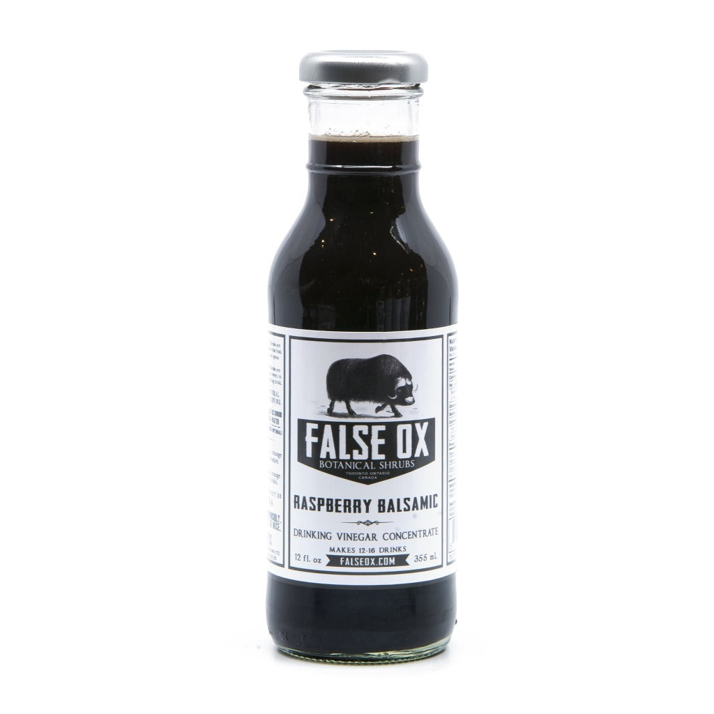 False Ox Raspberry Balsamic Shrub