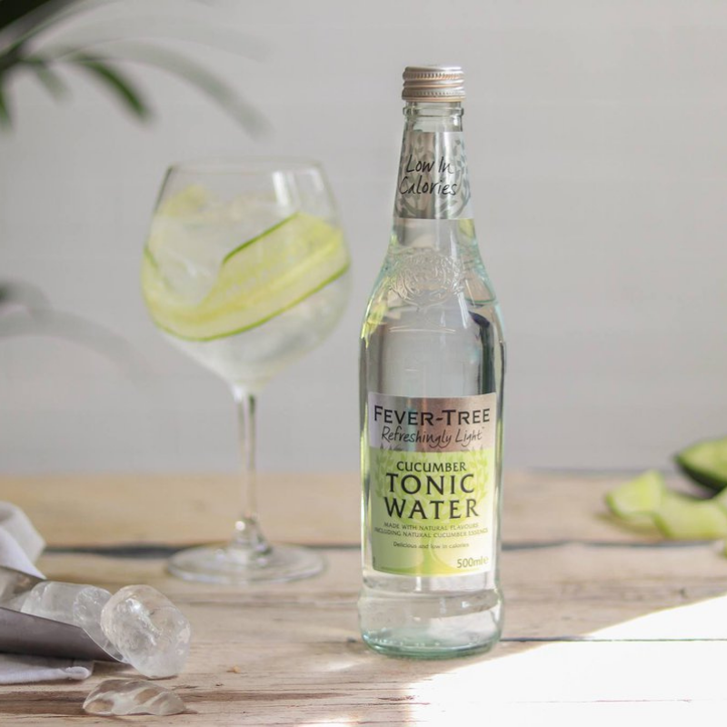 Fever Tree Cucumber Tonic Water (4-pack)