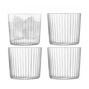 LSA International Gio Textured Tumblers (set of 4)