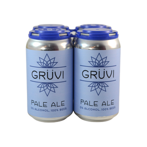 Gruvi Non-Alcoholic Pale Ale Beer (4 pack)