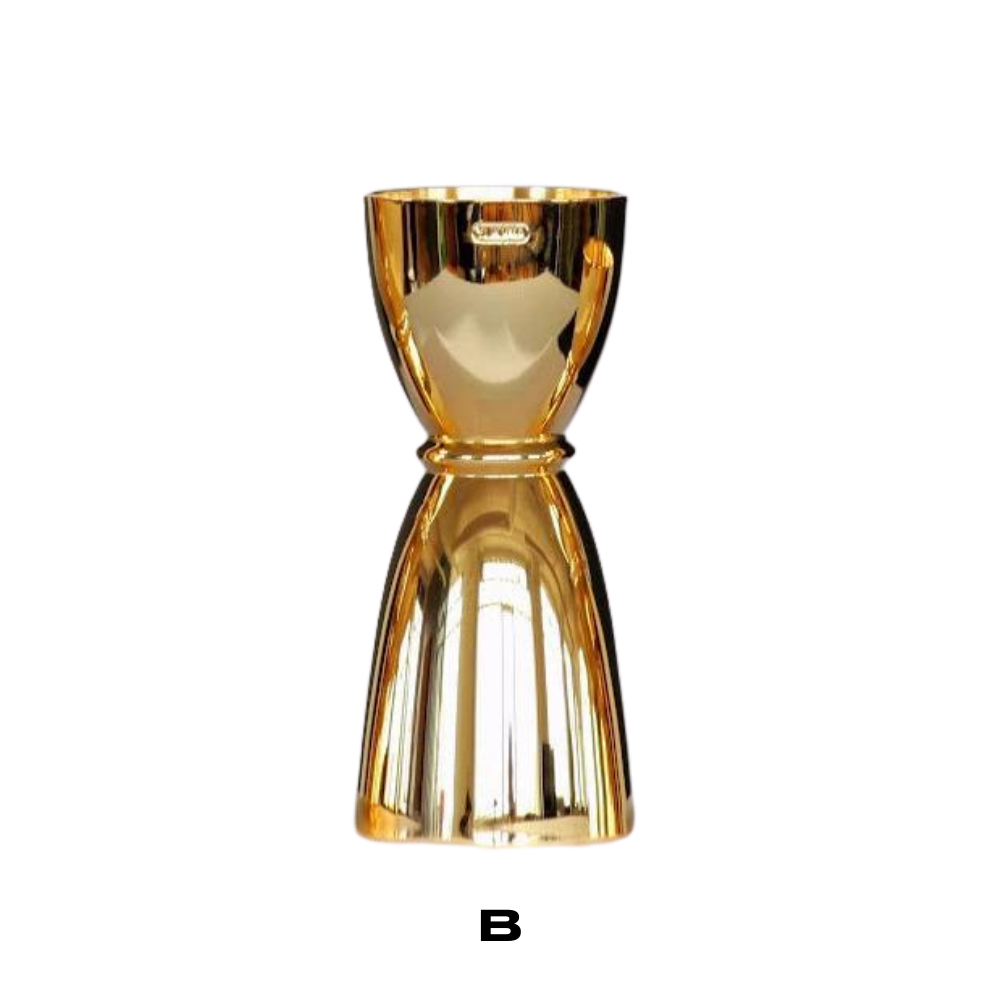 Gold Japanese Cup Jigger - available in 3 sizes