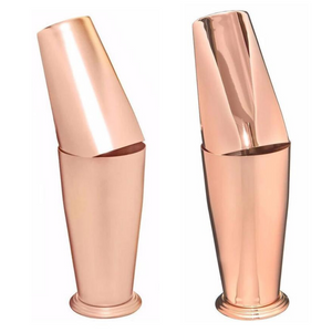 Rose Gold Japanese Boston Shaker - available Matte or Shiny