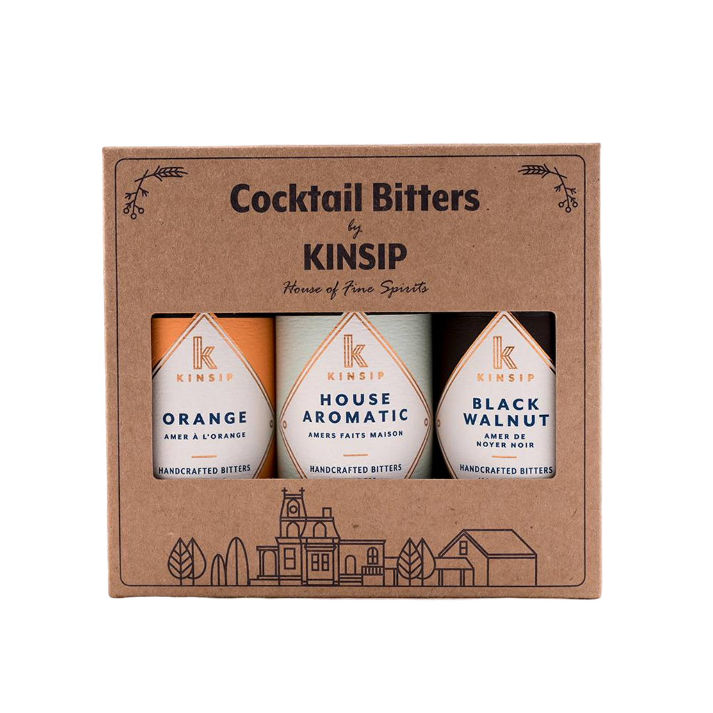 Kinsip New Old Fashioned Bitters Gift Pack