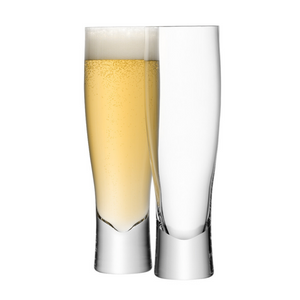 LSA International Bar Lager Glasses (set of 2)