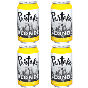 Partake Non-Alcoholic Blonde (4-pack)