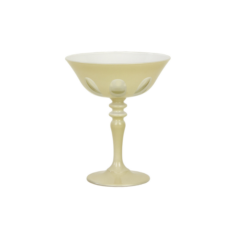 Rialto Coupe Glass Creme