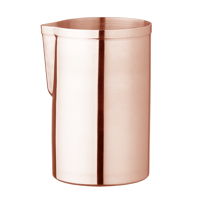 Rose Gold Japanese Mr. Slim Mixing Pitcher
