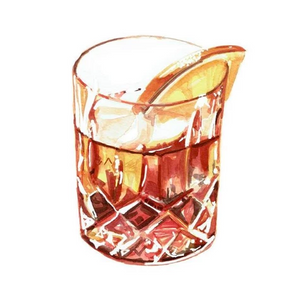 Negroni Greeting Card