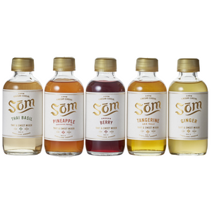 Som Cane Cordial Shrub Gift Pack (Set of 5)