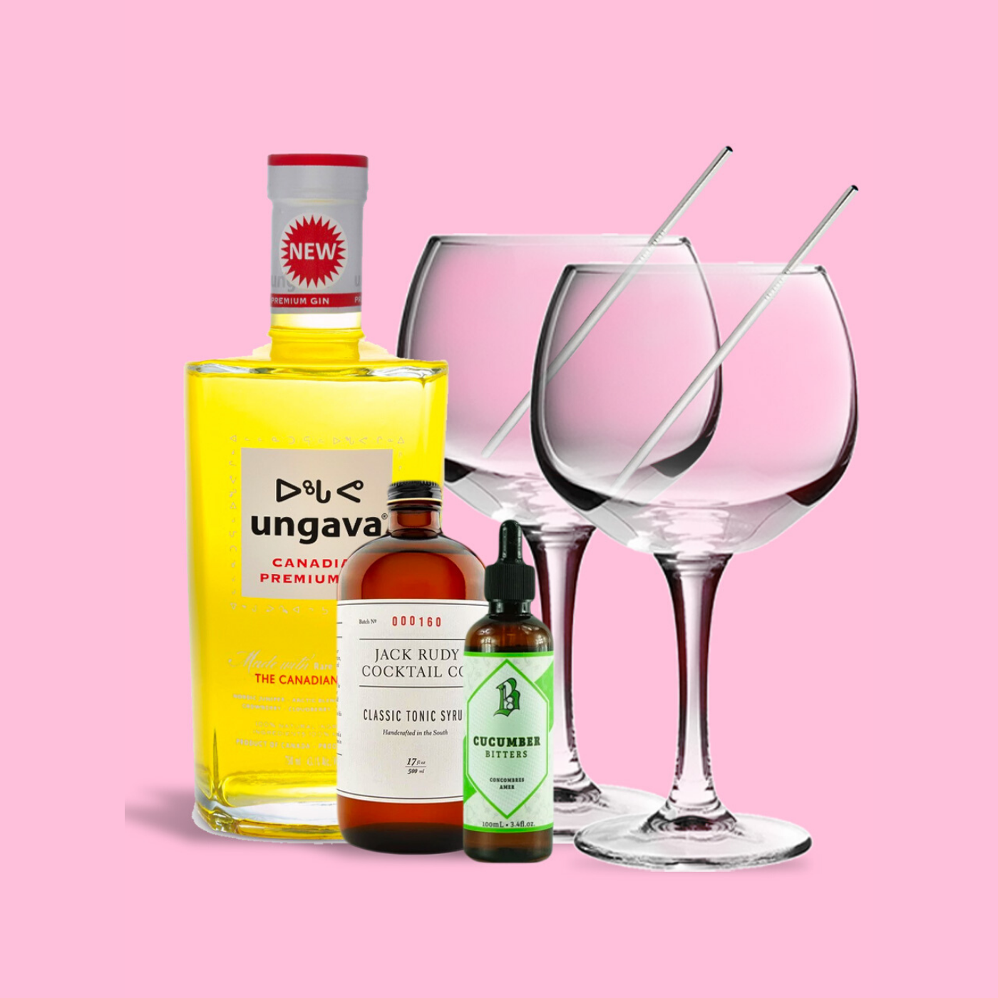 RUNNER Delivery Simple Gin & Tonic Set