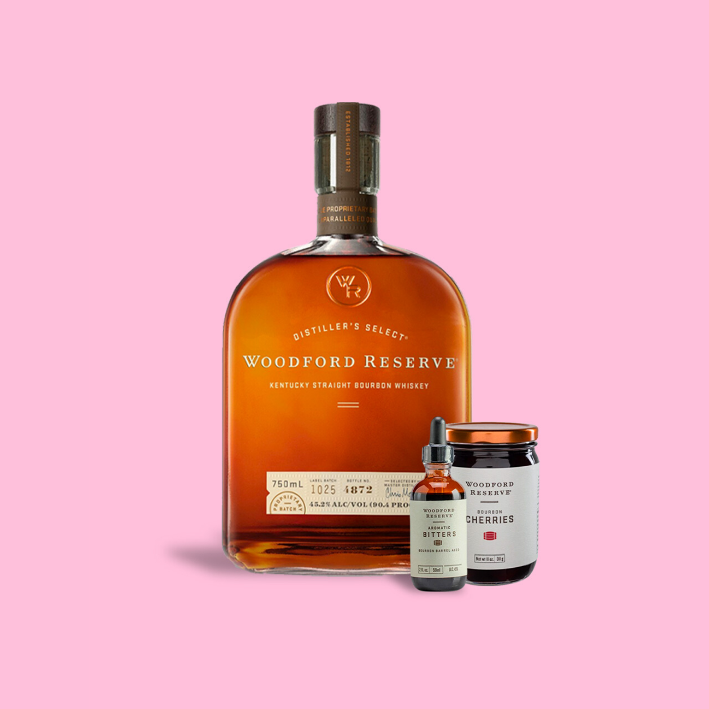 RUNNER Delivery Woodford Reserve Old Fashioned Set