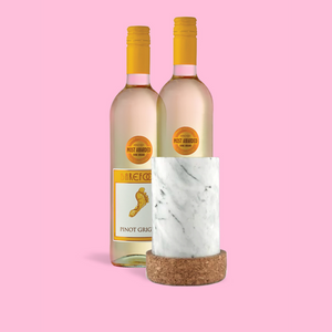 RUNNER Delivery Marble Wine Chiller Set