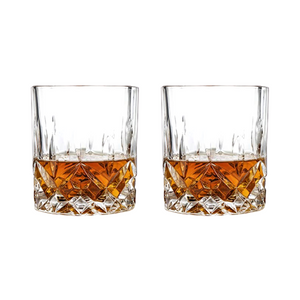 Admiral Cut Crystal Tumbler Set of 2