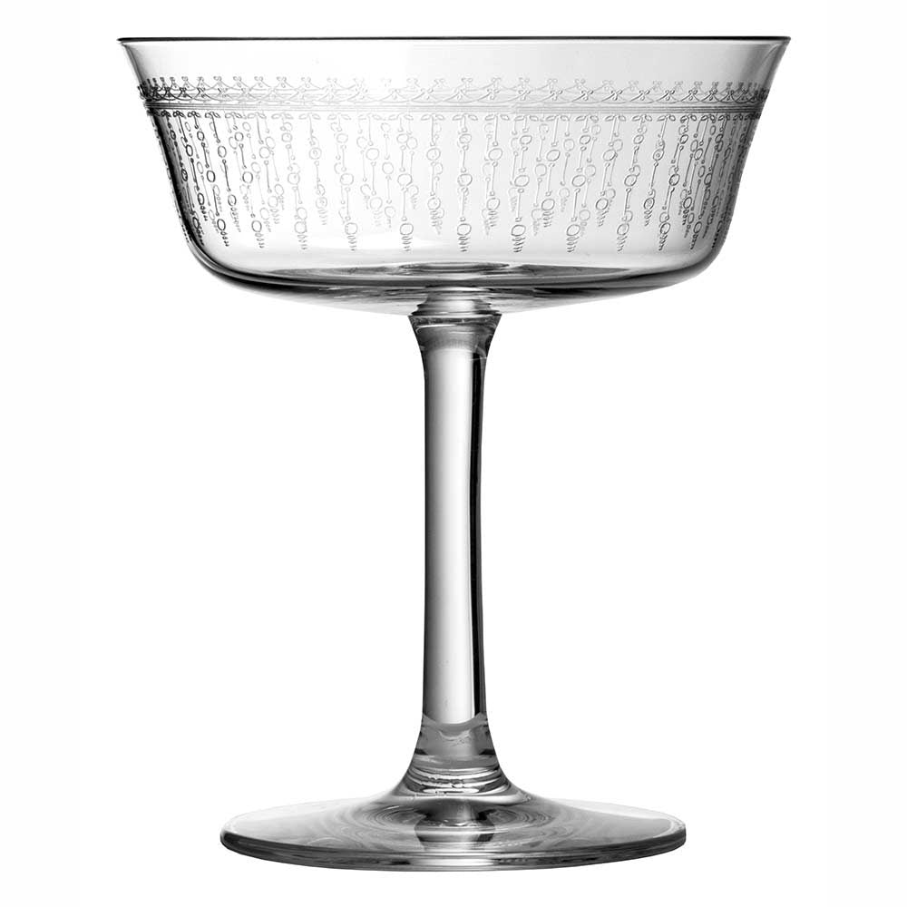 1920 Retro Shallow Fizz Glass