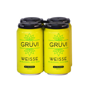 Gruvi Non-Alcoholic Weisse Beer (4 pack)