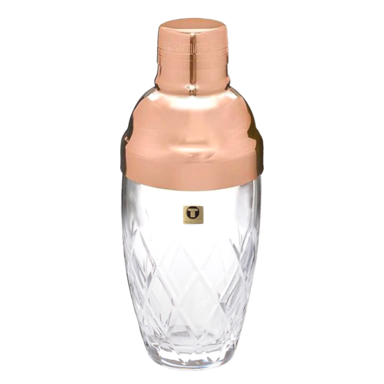 Rose Gold Glass Yarai Shaker