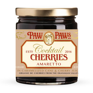Paw Paw's Amaretto Cocktail Cherries
