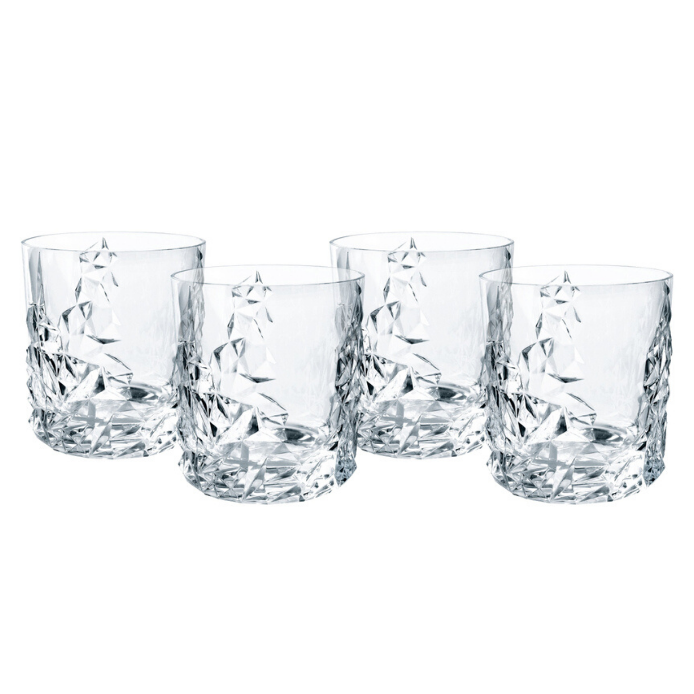 Nachtmann Sculpture Tumblers (set of 4)