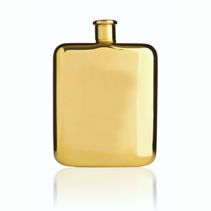 Gold-Plated Flask