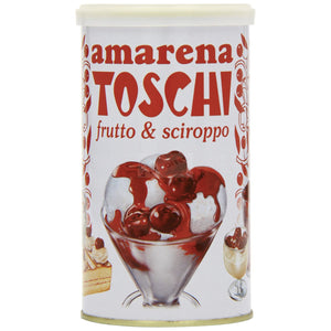 Toschi Sour Black Cherries (400g Tin)