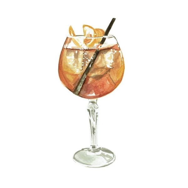 Aperol Spritz Greeting Card