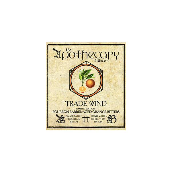 Apothecary Trade Wind Barrel Aged Orange Bitters