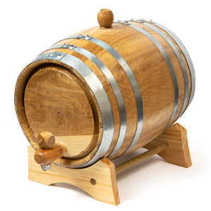 American White Oak Barrel - 2 litre