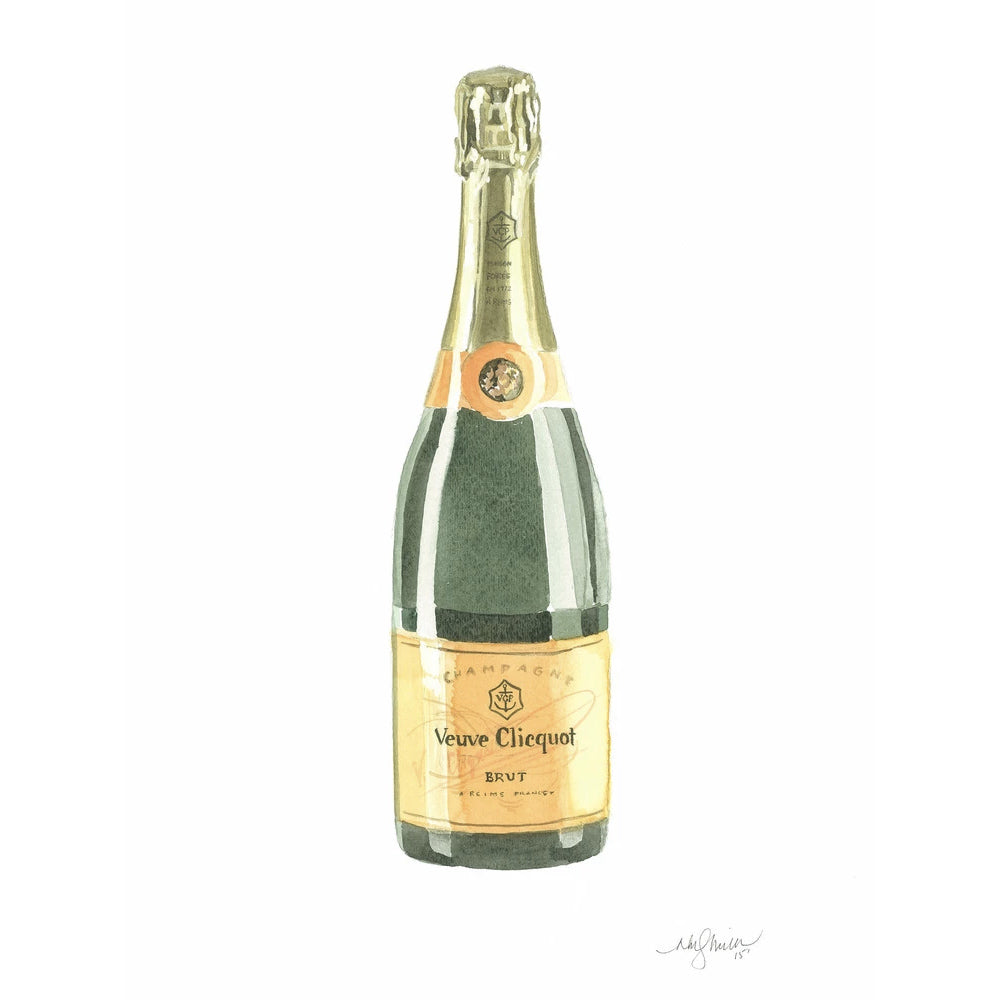 Veuve Clicquot Greeting Card