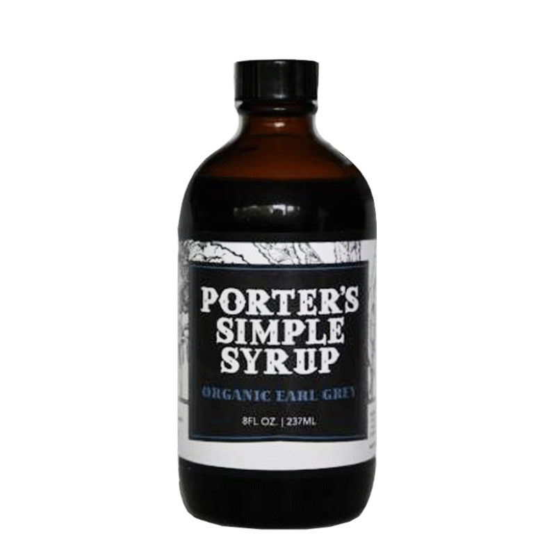 Porter's Earl Grey Simple Syrup